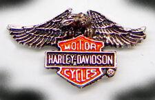HARLEY DAVIDSON DOWN EAGLE PIN  1 1/4  INCH