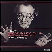 Alfred Brendel - Mozart: Piano Sonatas K330, 331, 570 / Rondo K511 (CD 2000)