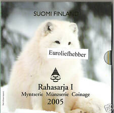 Finland / Suomi     BU Euro Set  2005   IN STOCK