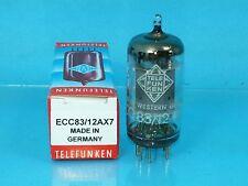 TELEFUNKEN 12AX7 ECC83 VACUUM TUBE 1964 TEST NOS SMOOTH PLATE DIAMOND SINGLE T07