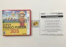 Super Mario Maker 3D Nintendo 3DS Authentic Tested CIB COMPLETE