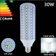 30w led bulb e27 cool white 5730 smd high power corn light saving lamp 220v 110v