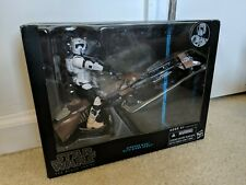 Hasbro Star Wars Black Series Speeder Bike With Biker Scout