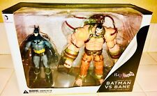 DC NEW 52 BATMAN ARKHAM ASYLUM BATMAN VS BANE ACTION FIGURE SET - SOLD OUT!