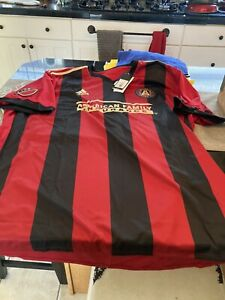 MENS ADIDAS Atlanta United 2017 INAUGURAL SEASON Home Replica Jersey 3XL RED NWT