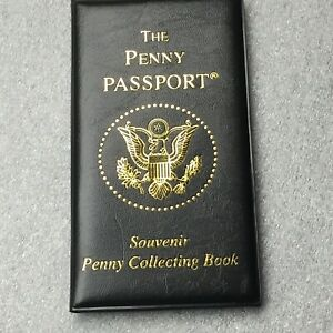 New Penny Passport Souvenir Elongated Pressed Smashed Collector Book Holds 44