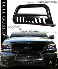 1999-2007 SILVERADO/SIERRA 1500 BLACK HD BULL BAR BRUSH PUSH BUMPER GRILL GRILLE