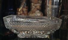 Waterford Prestige Collection Square Sparkling Crystal Centerpiece Bowl 10.5 X 7