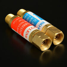 Oxygen/Acetylene FLASHBACK ARRESTOR Set w/check: Torch Welding, 9/16-18 Threads