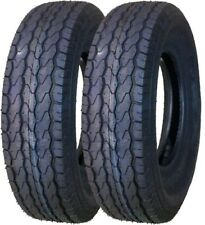 "2 New Free Country Trailer Tires ST205/75D14 2057514 14"" F78-14 Bias 6PR - 11020"