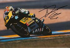 Andrea DOVIZIOSO hand signed scozzese RACING HONDA 12x8 FOTO 2004 125cc CHAMPION 3.