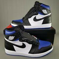 Nike Air Jordan 1 Retro High OG Royal Toe Shoes Mens Size 10.5 Basketball Blue