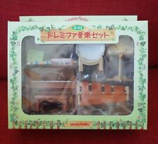 Sylvanian Families Vintage MUSIC SET Epoch Japan S-03 Used Calico Critters