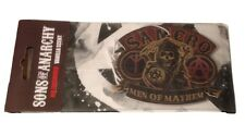 Sons of Anarchy Soa Samcr 00004000 o Car or Home Air Freshener Vanilla Scent New Licensed