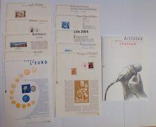 Lot De 11 Documents Philatéliques