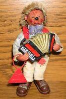 Original Peter Mecki Figurine Flexible Made IN Autriche Rouge Bouclier avec