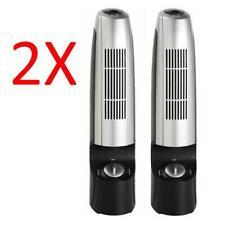 """2 X 12"""" AIR PURIFIER IONISER FRESHNER SILENT REVITALISER CLEANER IONIZER FILTER"""