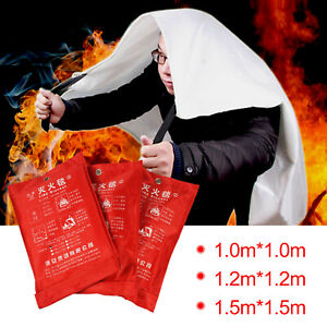 Quick Release Home & Office Safety Fire Blanket Emergency Survival Safety Cover