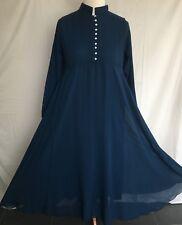 *NEW*Ladies/Women Long Chiffon Diamanté Abaya/Kaftan/Dress Maxi Various Colours