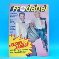 DDR FF-Dabei 25-1987 / 15.-21.06. Zeitschrift - Hans Klering Ein Kessel Buntes