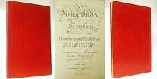 Handschrift, Kriegstaten d. Hessischen Militärs um 1820