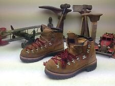 BROWN DISTRESSED DEXTER USA LACE UP ANKLE ENGINEER TRAIL BOSS HIKING BOOTS 7.5 M