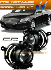 2008-2012 Chevy Malibu LED Replacement Projector Fog Light Housing Assembly Pair