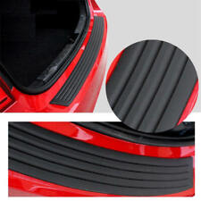 Rear Bumper Guard Protector Trim Cover Sill Plate Trunk Rubber Pad Kit IGQ