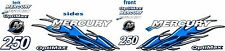 mercury flame optimax 60-250hp decal kit
