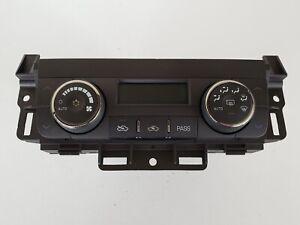 06 Buick Lucerne 15861055 Climate Control Panel Temperature Unit A/C Heater