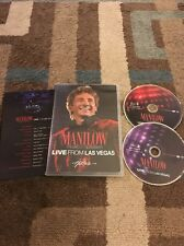 Barry Manilow - Live From Las Vegas 2 DVD Set Barry Manilow, Free Shipping!!