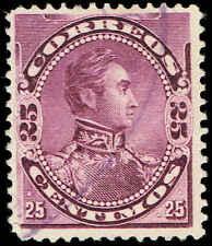 Scott # 125 - 1893 - ' Simon Bolivar '