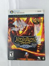 LORD OF THE RINGS Online COMPLETE EDITION: Mines of Moria (PC/DVD) Sealed