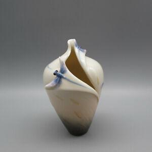 Franz Porcelain Dragonfly Small Vase