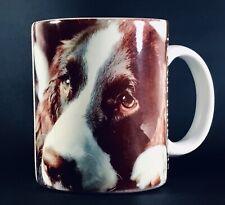 New ListingVintage Springer Spaniel Coffee Cup English Dog Lovers 1992 B. Gelberg Design