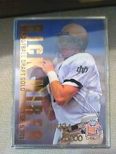1993  CLASSIC FOOTBALL DRAFT GOLD ROOKIE  AUTOGRAPH  CARD SET