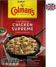 38gm Colman's Chicken Supreme Sauce Mix