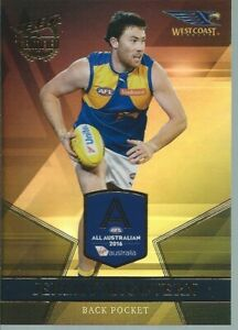 2017 Select Certified All Australian - Jeremy McGovern - West Coast Eagles - AA3