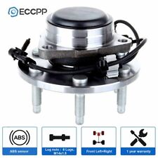 Front Wheel Hub Bearing Assembly 6 Lugs For Chevy Sierra GMC Silverado 2WD ABS