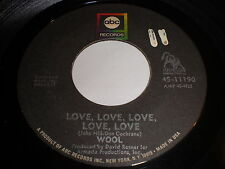 Wool: Love, Love, Love, Love, Love / If They Left Us Alone Now 45 - Garage Psych