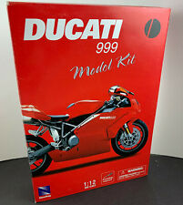 Ducati 999 1/12 Die-Cast/Plastic Model Kit Licensed Prod. Mint-In-Box - NewRay