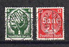 DR Deutsches Reich 1934 Mi.Nr. 544 - 545 Saarabstimmung gestempelt KW 1,5€