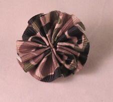 Camo Print Men's Boutonniere Flower Lapel Pin - Everyday / Wedding / Prom