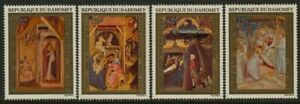 Dahomey C176-9 MNH Art, Christmas, Nativity, Adoration of the Kings