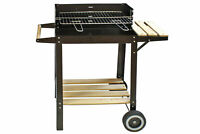 Grillwagen Deluxe Holzkohle Barbecue Grill Holzkohlegrill Standgrill Holzkohle