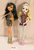 Monster High Cleo de Nile & Lagoona Blue Scaris City of Frights 2 Dolls Set 2012
