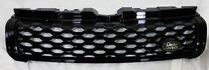 Range Rover Evoque L538 2016-18 OEM Santorini Black Honeycomb Mesh Front Grille