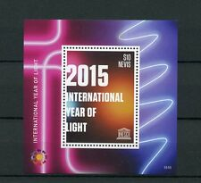 Nevis 2015 MNH UNESCO International Year of Light 1v S/S Science