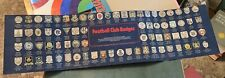 Esso Collection of Football Club Badges 1972 Incomplete