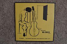 """Brownie McGhee 10"""" LP + Insert """"Blues"""" Folkways (FA-2030), Near Mint"""